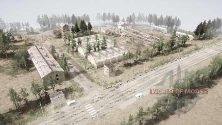 Base de mísseis para MudRunner
