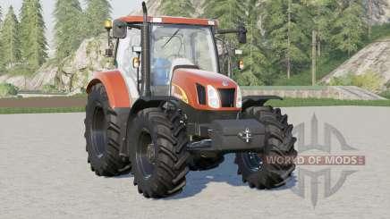 Nova Holland T6000 série〡inclua peso frontal para Farming Simulator 2017
