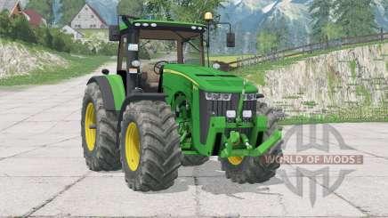 John Deere 8370R〡fixado alguns bugs para Farming Simulator 2015