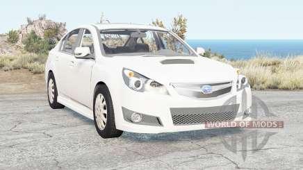 Subaru Legacy B4 (BM) 2009 para BeamNG Drive