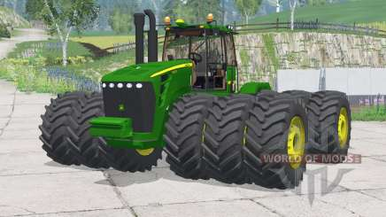 John Deere 9630〡 rodas adicionadas para Farming Simulator 2015