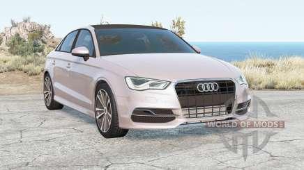 Audi S3 Sedan (8V) 2013 para BeamNG Drive