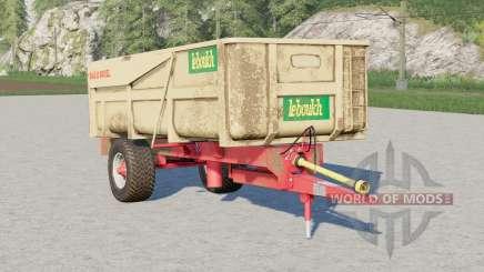 Leboulch Gold 11000 XL〡selegível marca para Farming Simulator 2017