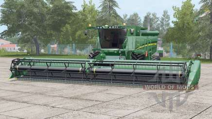 John Deere S690i〡nova pele de sujeira para Farming Simulator 2017