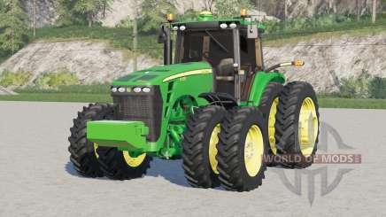 John Deere 8030 〡seclui o peso frontal para Farming Simulator 2017