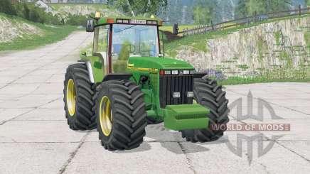 John Deere 8400〡se para Farming Simulator 2015