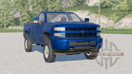 Chevrolet Silverado 2500 HD Cabine Regular 2017〡usas opções de pneus para Farming Simulator 2017