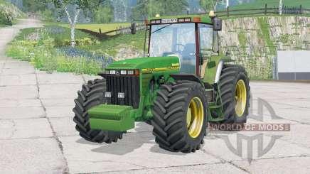 John Deere 8400〡regulagem do volante para Farming Simulator 2015