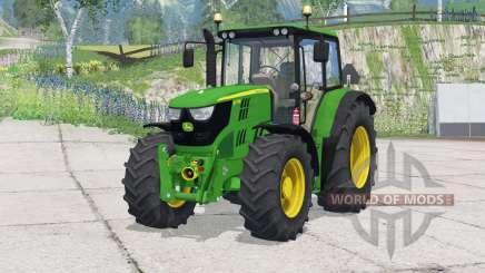 John Deere 6115M〡change rodas para Farming Simulator 2015