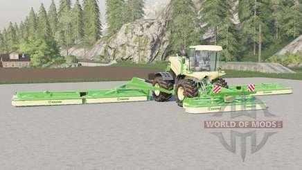 Krone BiG M 500〡trabalho largura de 22,6 metros para Farming Simulator 2017