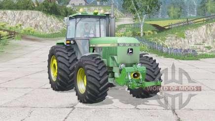 Velocímetro John Deere 4755〡digital para Farming Simulator 2015