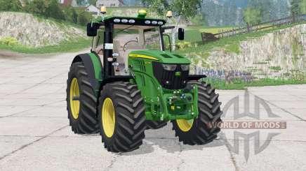 John Deere 6210R〡instrumentpanel belysning para Farming Simulator 2015