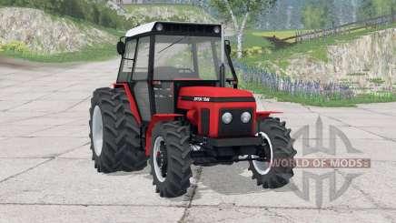 Zetor 7245〡há rodas traseiras duplas para Farming Simulator 2015