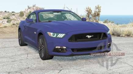 Ford Mustang GT Fastback 2015 para BeamNG Drive