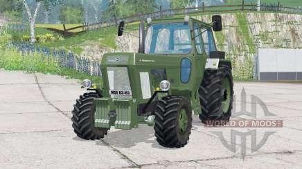 Controle interativo Fortschritt ZT 303〡-D para Farming Simulator 2015